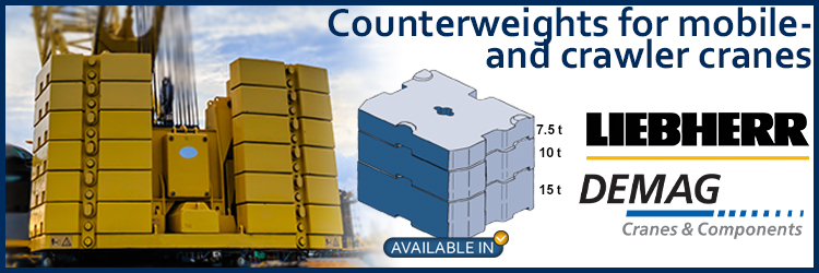 Request Demag counterweights
