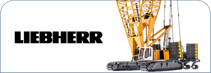 Liebherr crawler crane parts