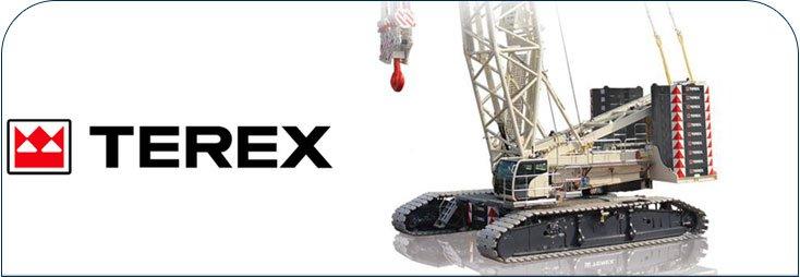 Terex crawler crane parts