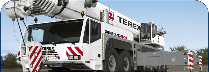 parts supply  terex demag crane parts  parts supply w