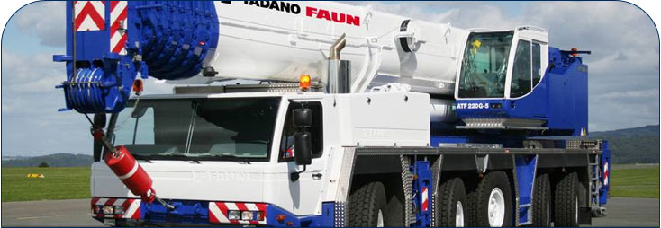 Tadano Faun crane parts and spares from Parts Supply